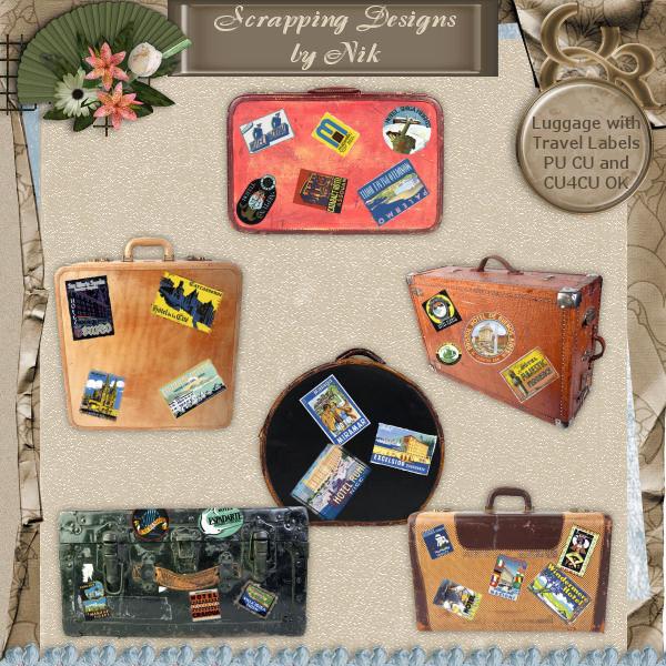 Luggage & Travel Labels I