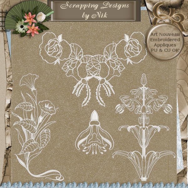Embroidered Appliques I