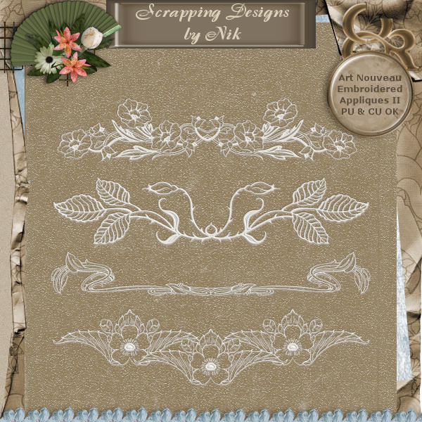 Embroidered Appliques II