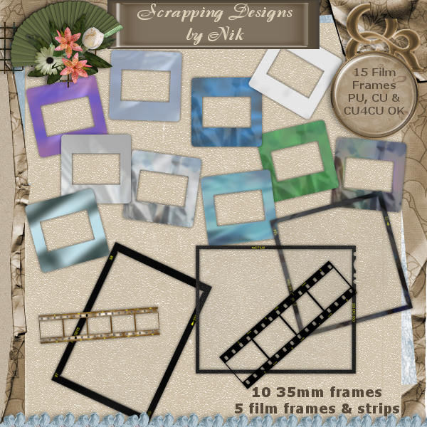 Film Frames & Strips