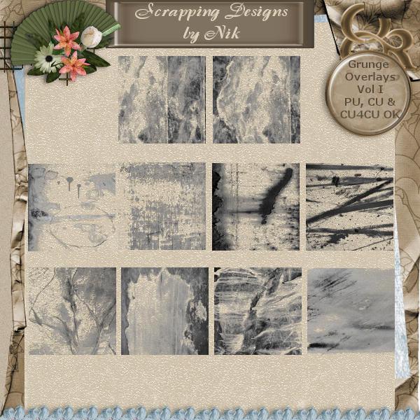 Grunge Overlays I