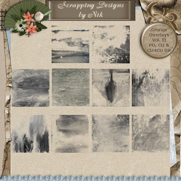 Grunge Overlays II