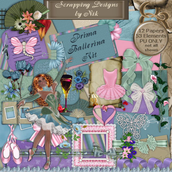 Prima Ballerina Full Size Kit