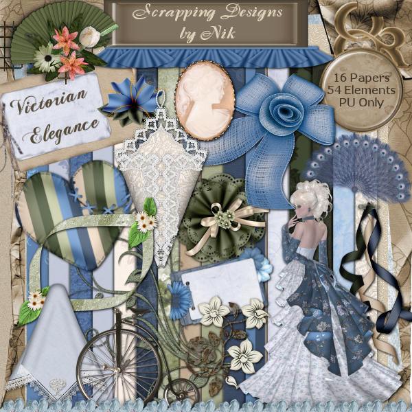 Victorian Elegance Full Size Kit