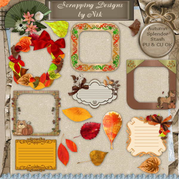 Autumn Splendor Stash
