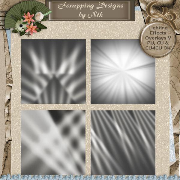 Light Effect Overlays V