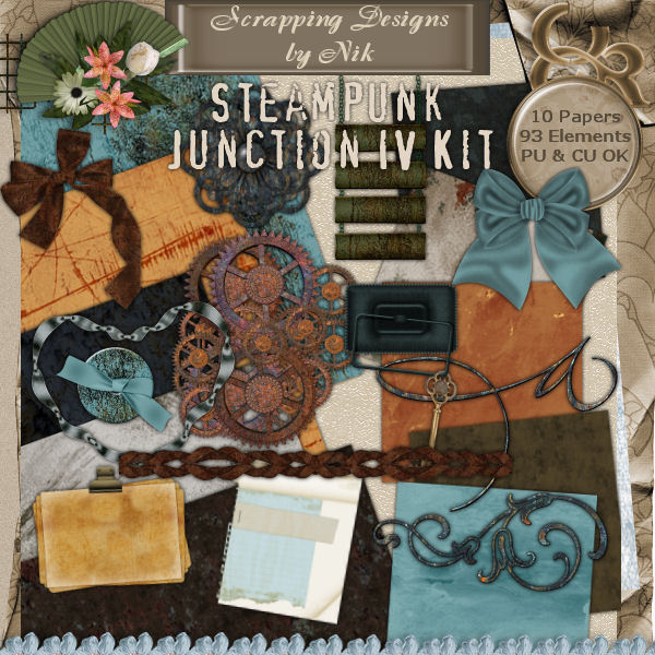 Steampunk Junction IV Full Size Kit
