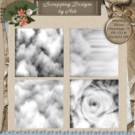 Stormy Skies Overlays II