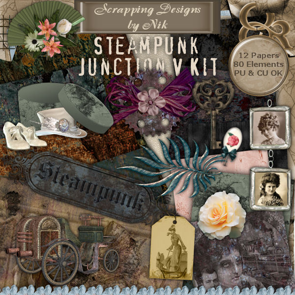Steampunk Junction V Full Size Kit