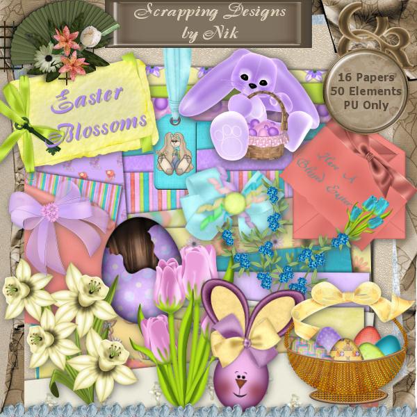 Easter Blossoms Full Size Kit