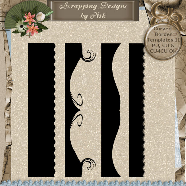 Curved Border Templates 2