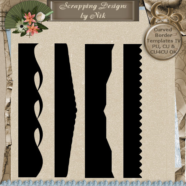 Curved Border Templates 4