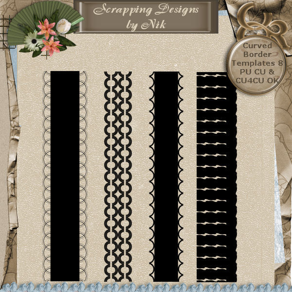 Curved Border Templates 8