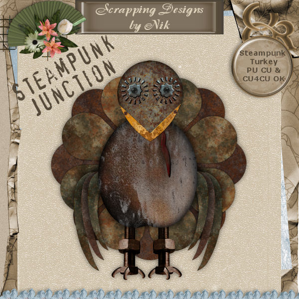 Steampunk Junction Turkey