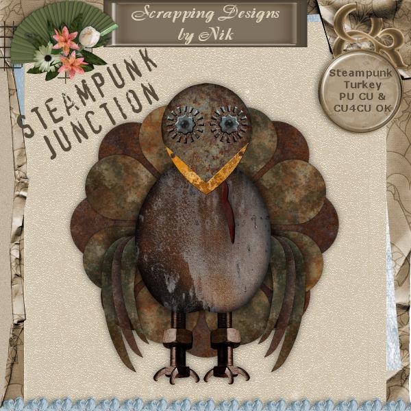 Steampunk Junction Turkey