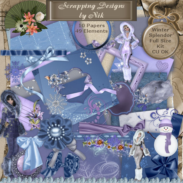 Winter Splendor Kit