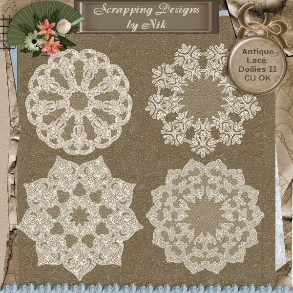 Antique Lace Doilies II