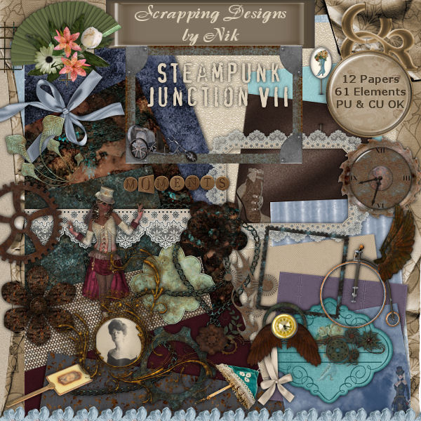 Steampunk Junction VII Full Size Kit