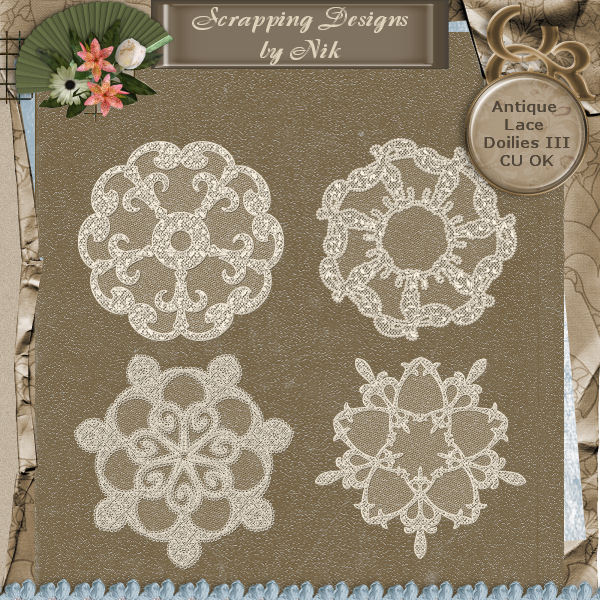 Antique Lace Doilies III