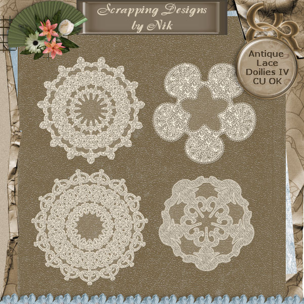 Antique Lace Doilies IV
