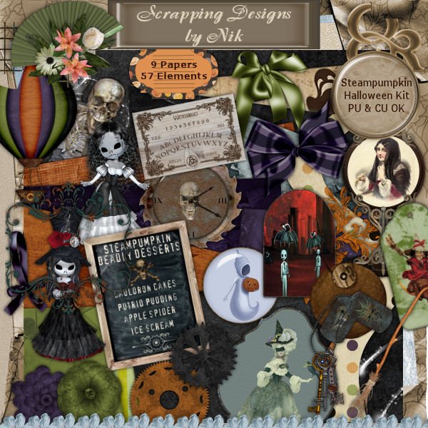 Steampumpkin Halloween Kit