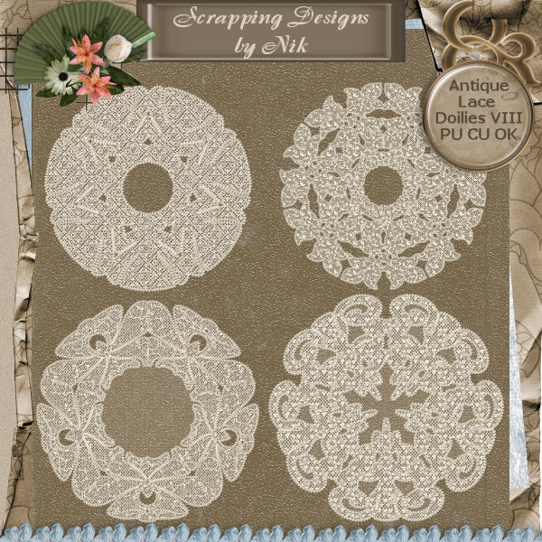Antique Lace Doilies VIII