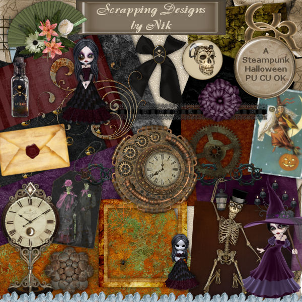 A Steampunk Halloween FS Kit