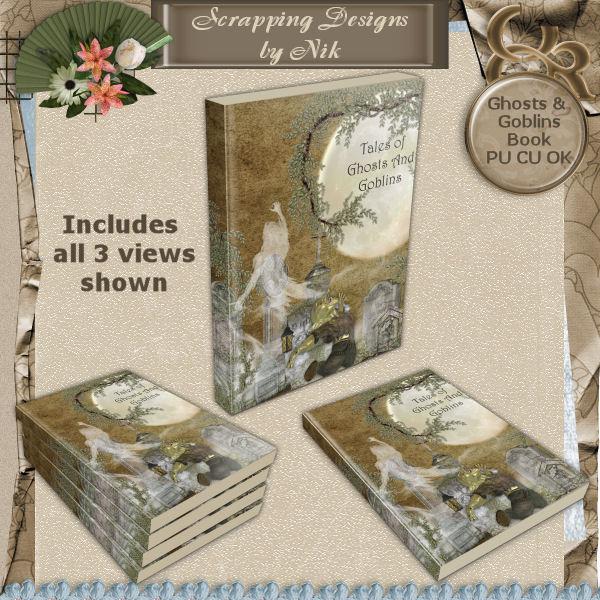 Ghosts & Goblins Book
