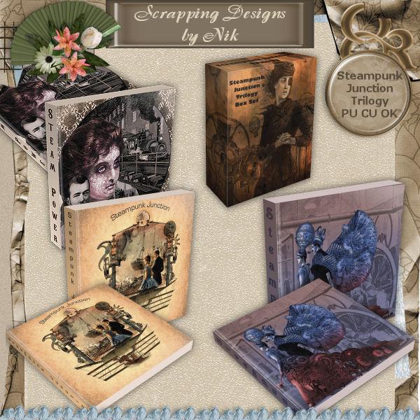 Steampunk Junction Trilogy