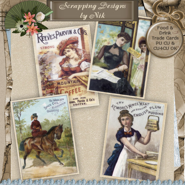 Food & Drink Trade Cards 2