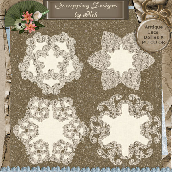 Antique Lace Doilies X