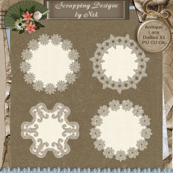 Antique Lace Doilies XI