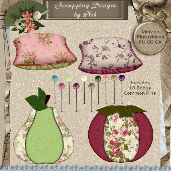 Vintage Pincushions