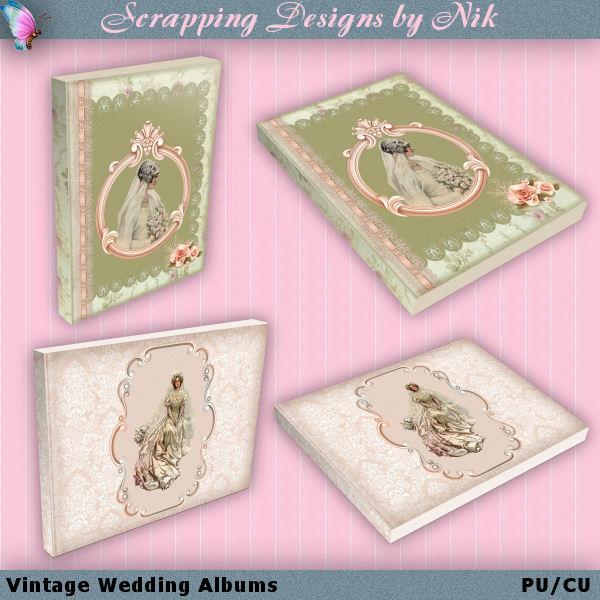 Vintage Wedding Albums