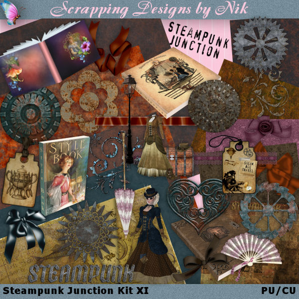Steampunk Junction Kit XI