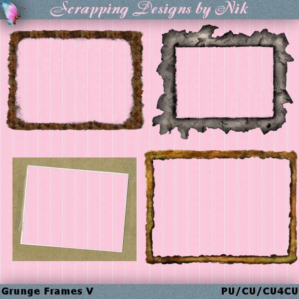 Grunge Frames 5