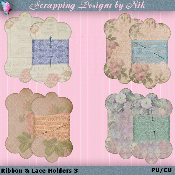 Ribbon & Lace Holders 3