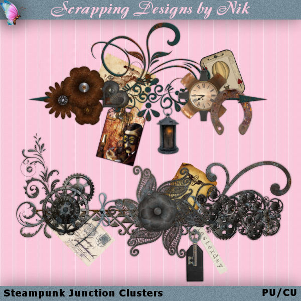 Steampunk Junction Clusters