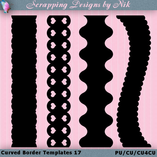 Curved Border Templates 17