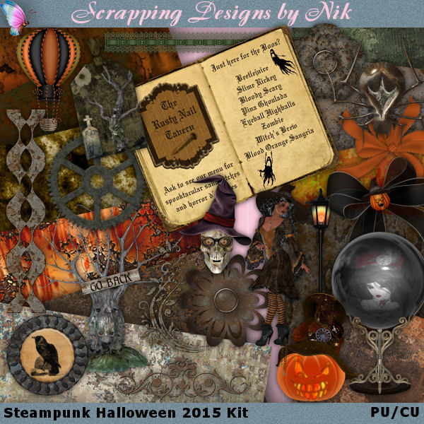 Steampunk Halloween 2015 FS Kit