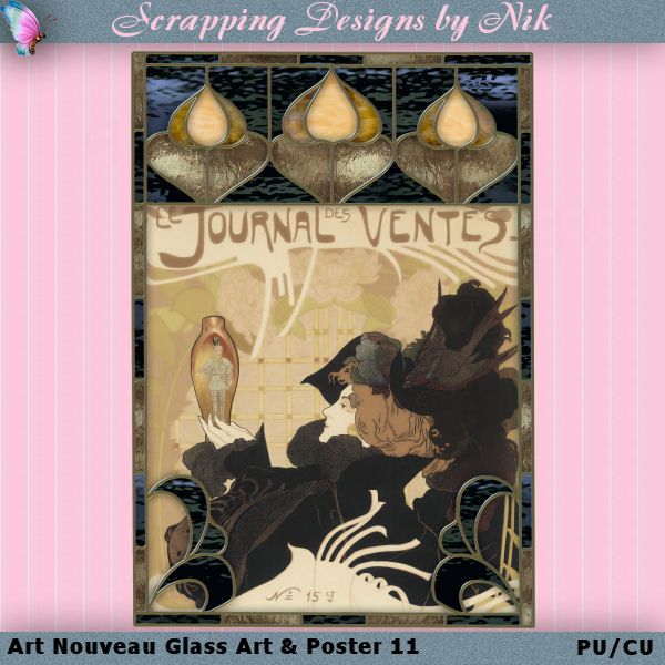 Art Nouveau & Glass Art 11