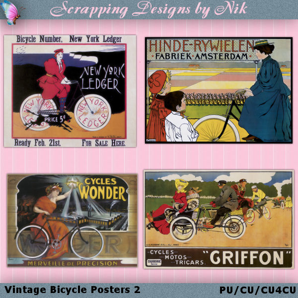 Vintage Bicycle Posters 2