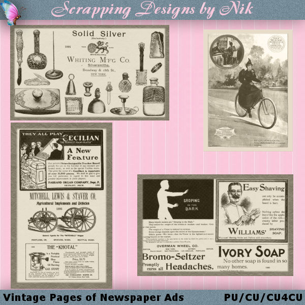 Vintage Newspaper Ads