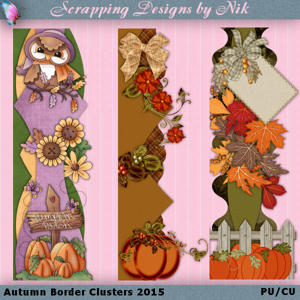 Autumn Border Clusters 2015