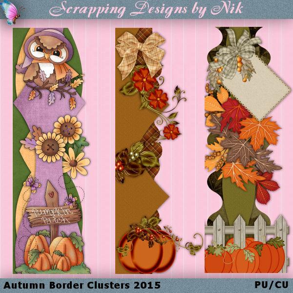 Autumn Border Clusters 2015