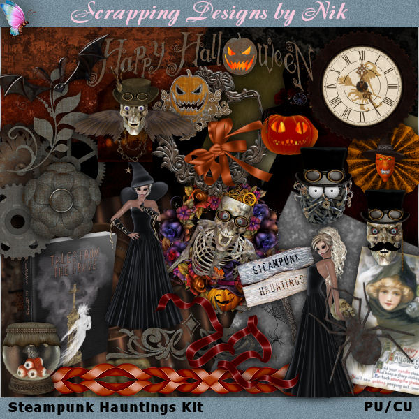 Steampunk Hauntings Kit