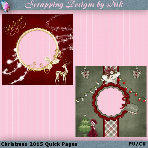Christmas 2015 Quick Pages