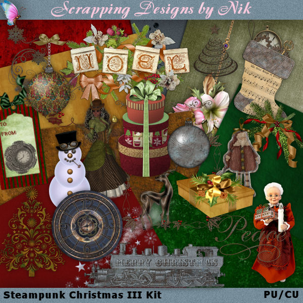Steampunk Christmas III Kit