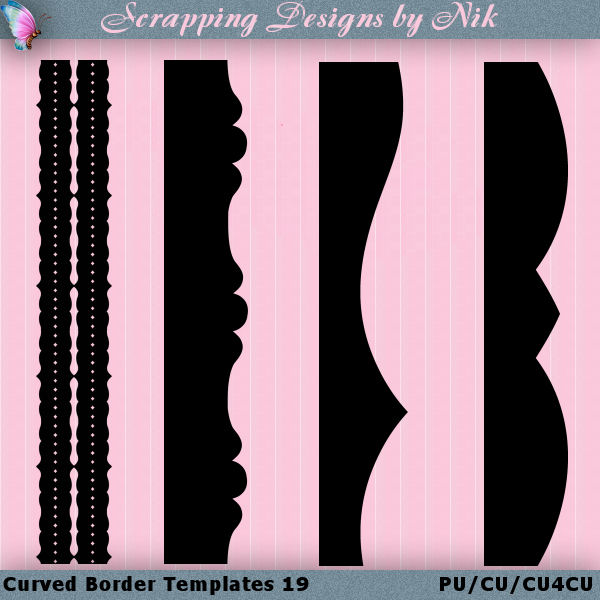 Curved Border Templates 19