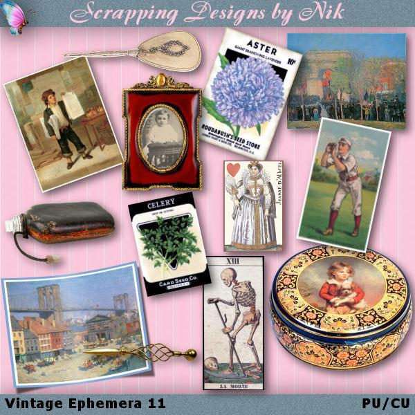 Vintage Ephemera XI